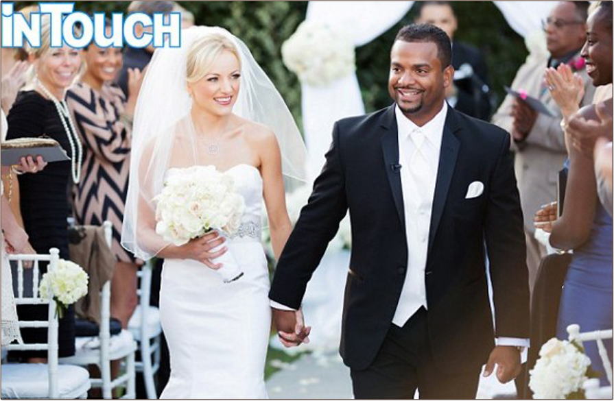 "Alfonso Ribeiro ""Carlton"" Wedding"