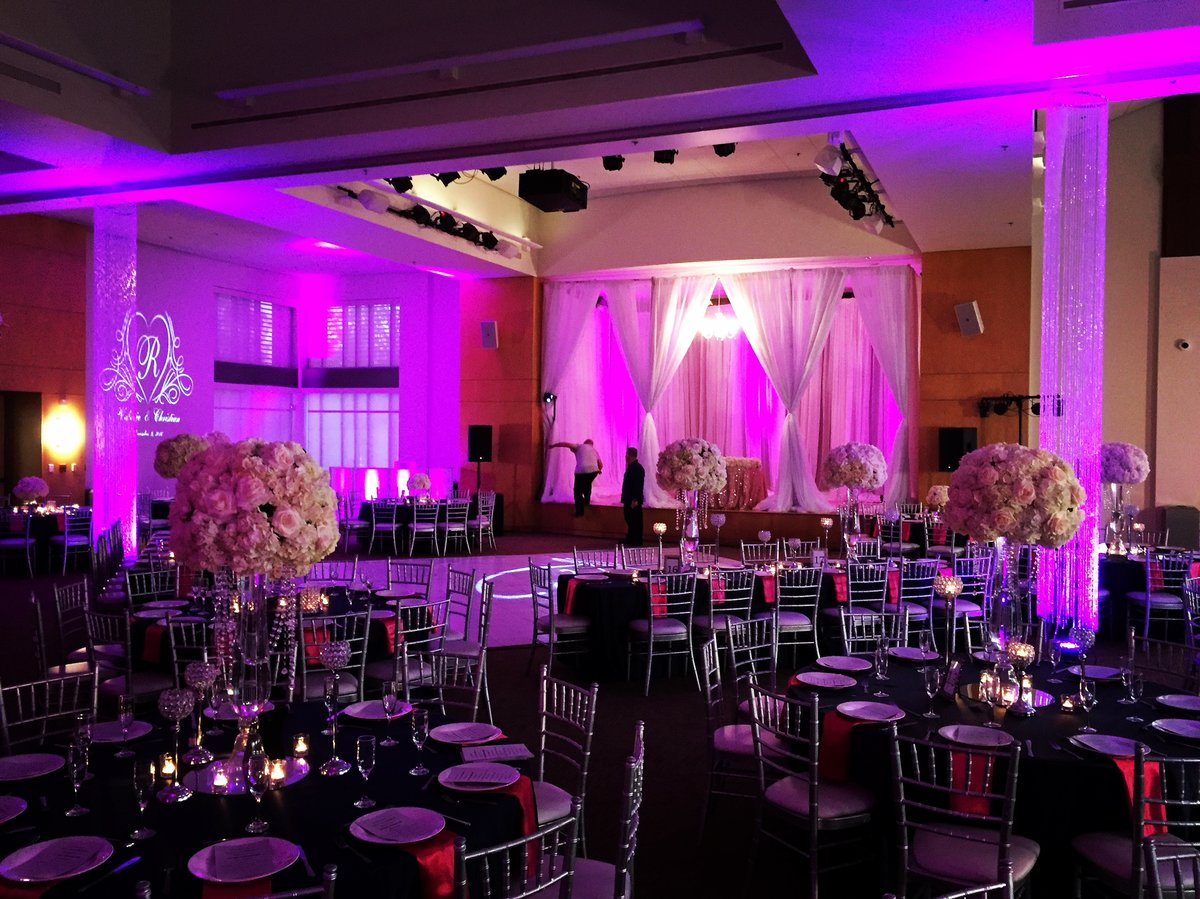 Draping for Weddings Los Angeles | BeDazzle My Events